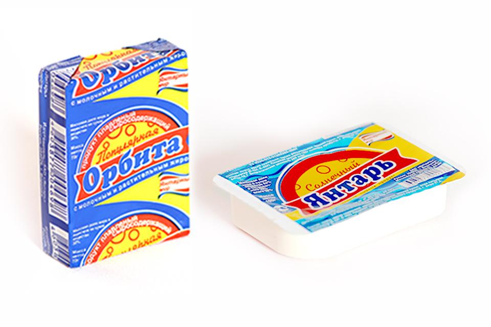 Разработка дизайна упаковки сыра