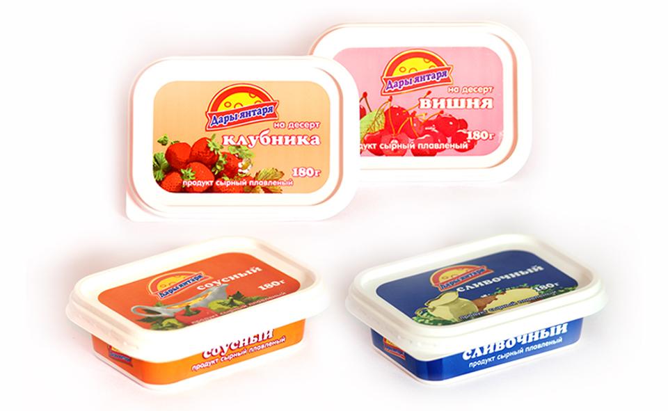 Разработка дизайна упаковки молочной продукции