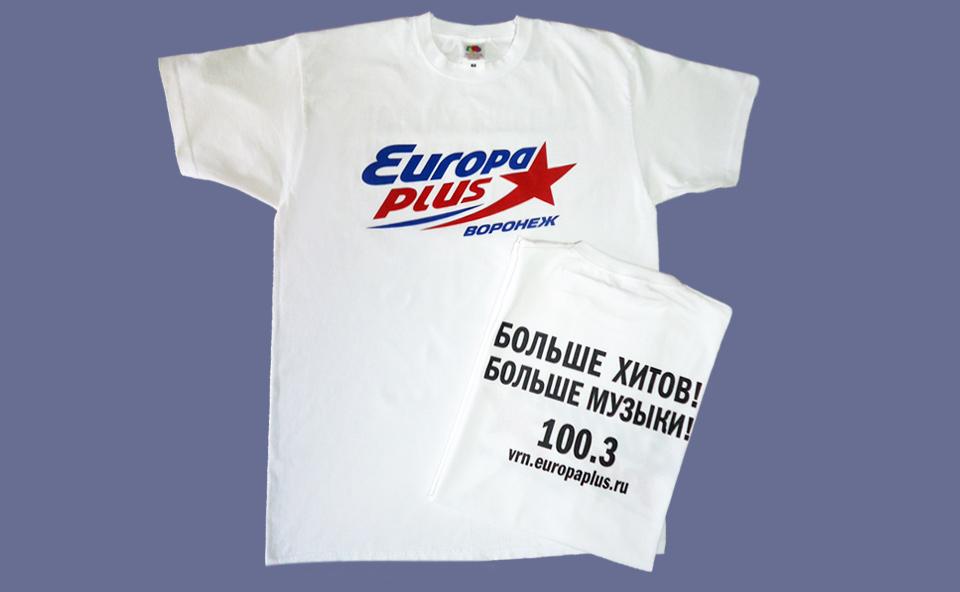 Прямая печать на футболках цена