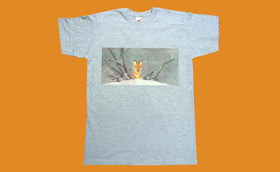 Прямая полноцветная печать на футболке