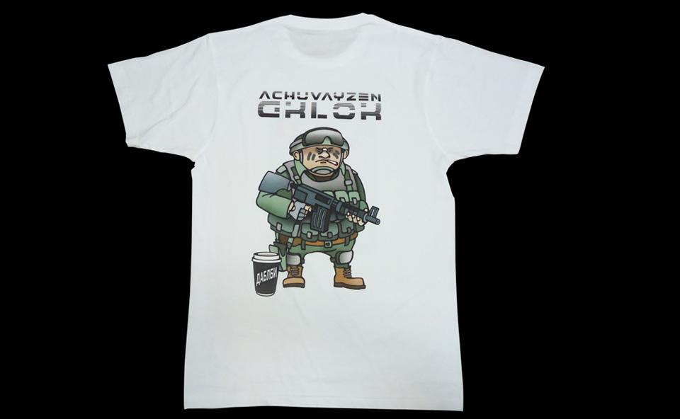 Прямая печать на футболках в Воронеже